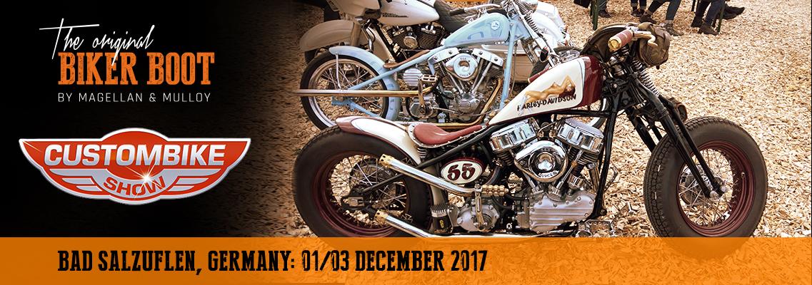 Custombike Show, Bad Salzuflen (DE), 01/03 december 2017