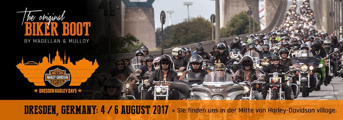 Dresden Harley Days, Dresden (DE), 04/06 august 2017