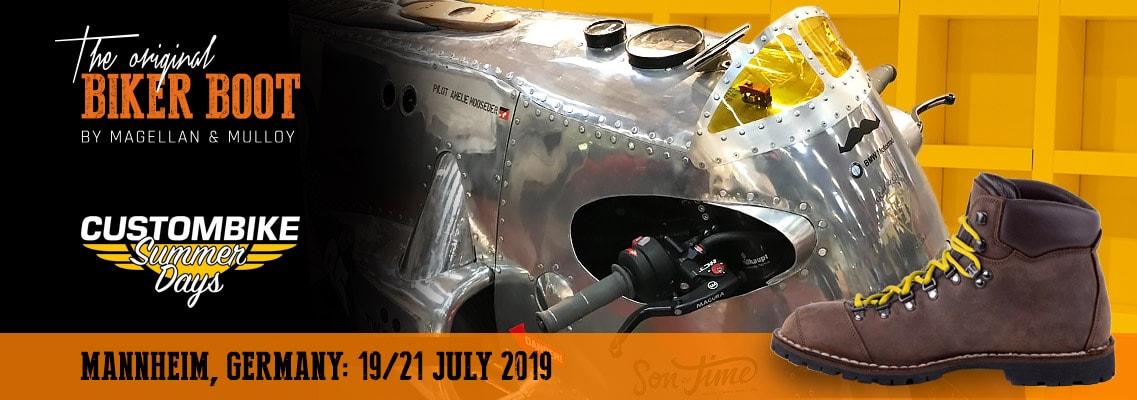 Custombike Summer Days, Mannheim (DE), 19/21 july 2019