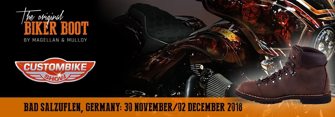 Custombike-Show, Bad Salzuflen (DE), 30/02 december 2018