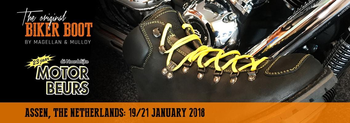Dé Noordelijke Motorbeurs, Assen (NL), 19/21 january 2018