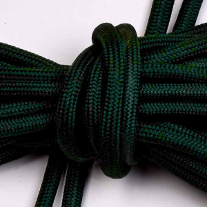 Schnürsenkel, 165cm lang, dunkelgrün